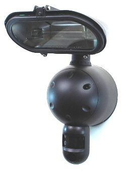 Security Light With Built in CCTV Camera
