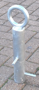 Heavy Duty Steel Spigot Based Security Ground Anchor