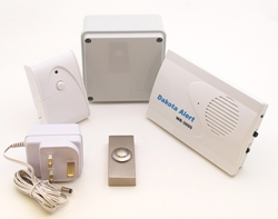 Long Range Entrance Battery Operated Wireless Bell System