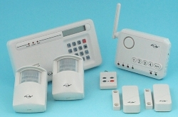XL Wireless Alarm & Telephone Dialer Security System